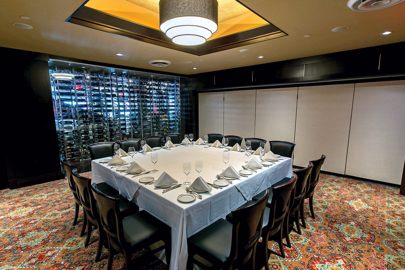 Truluck's Austin Downtown private dining room - The Napa Room