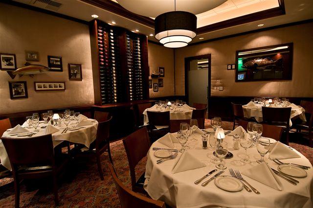Truluck's LaJolla private dining room - The Capri Room
