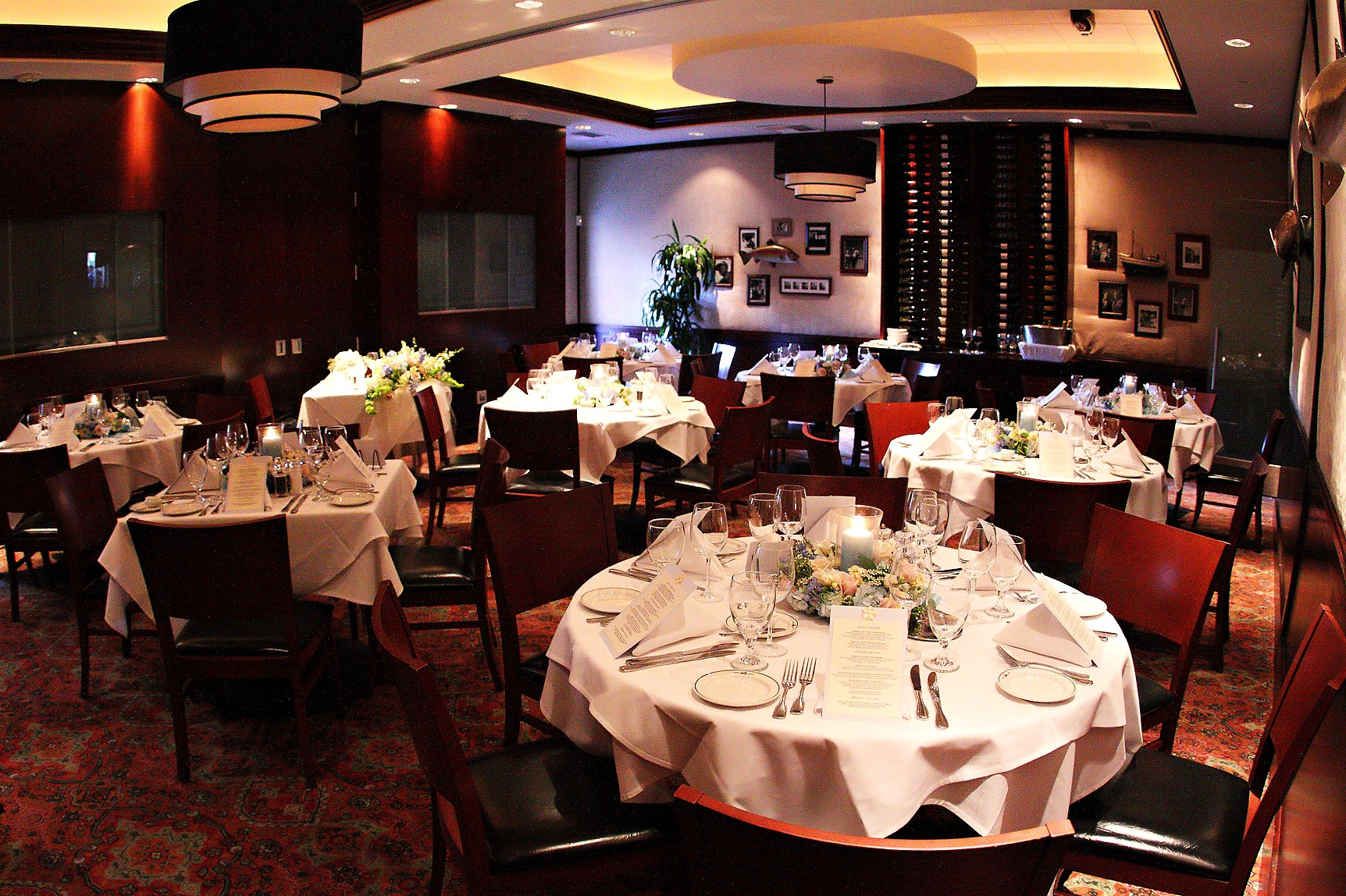 Truluck's LaJolla private dining room - The Sonoma Room