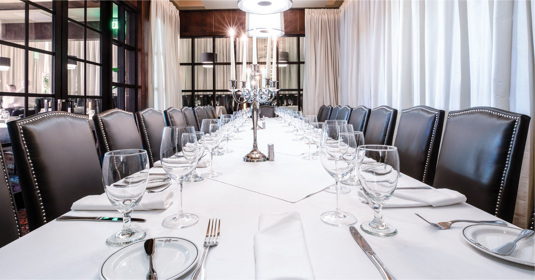 Big Deal Room - private dining room at the Rosemont location