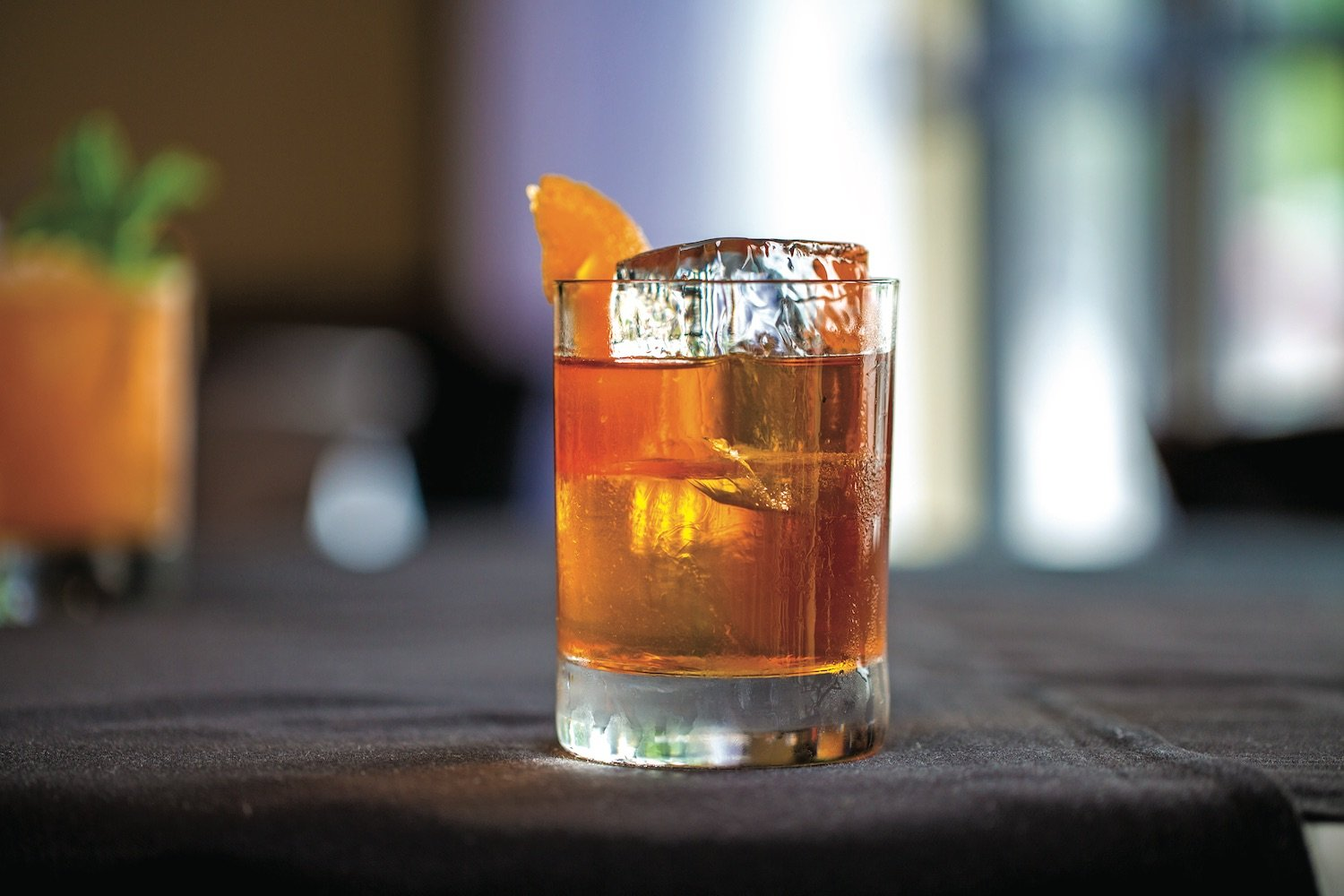 Truluck's house old fashioned cocktail