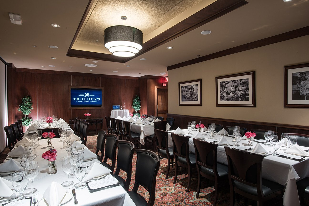 Truluck's Dallas private dining room Naples 1