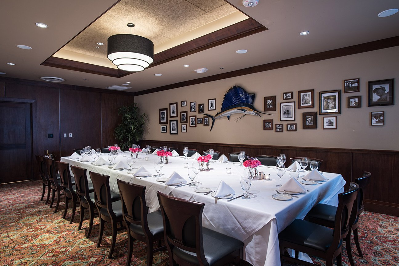 Truluck's Dallas private dining room Naples 3