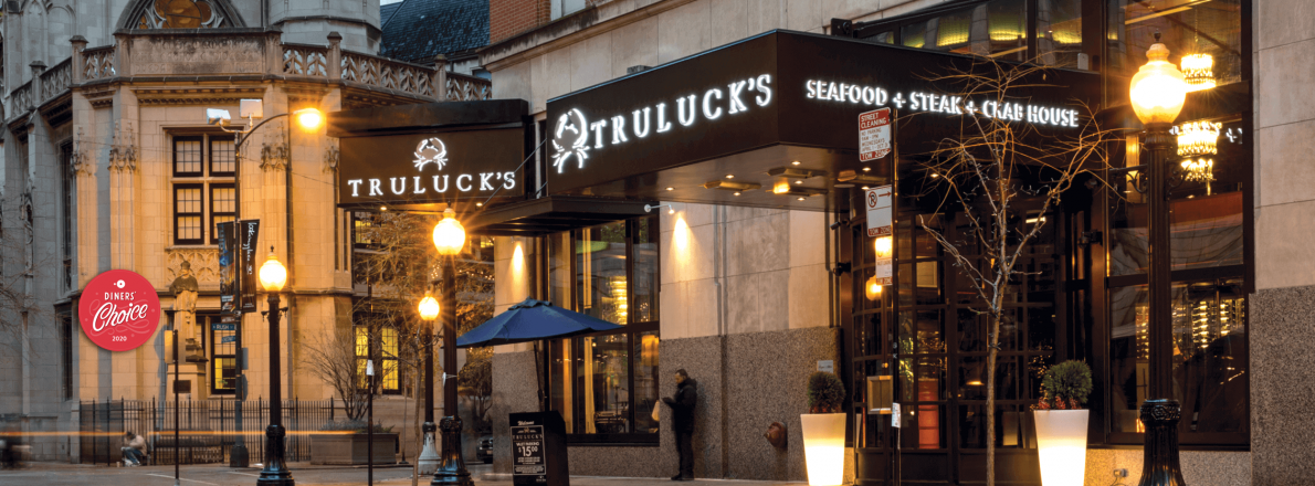 picture of Truluck's Chicago exterior entrance
