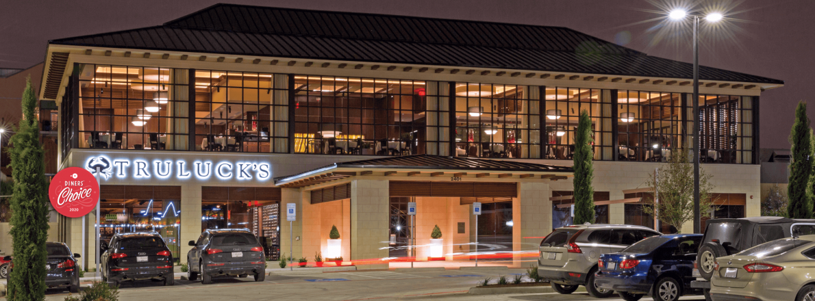 picture of Truluck's Dallas exterior entrance