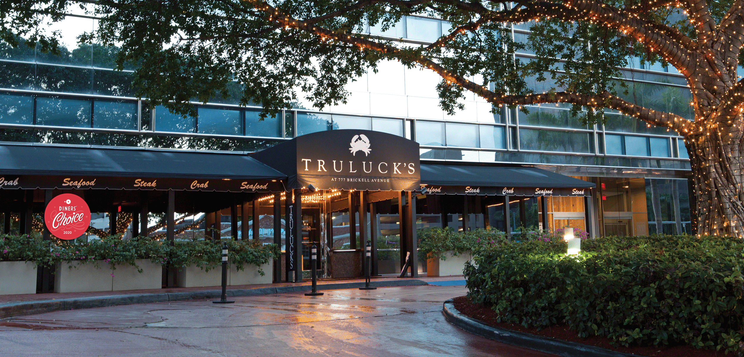 picture of Truluck's Miami exterior entrance