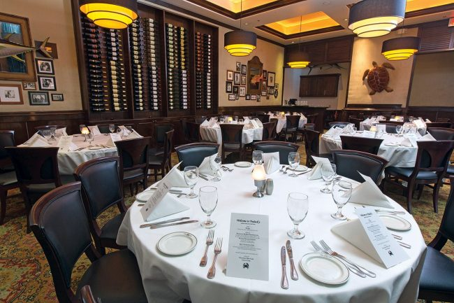 picture of Private dining room in our Houston location