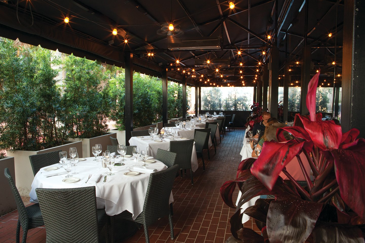 picture of Truluck's Miami covered outdoor terrace for dining