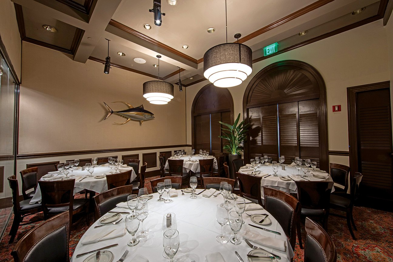Truluck's Naples private dining room - The Capri Room
