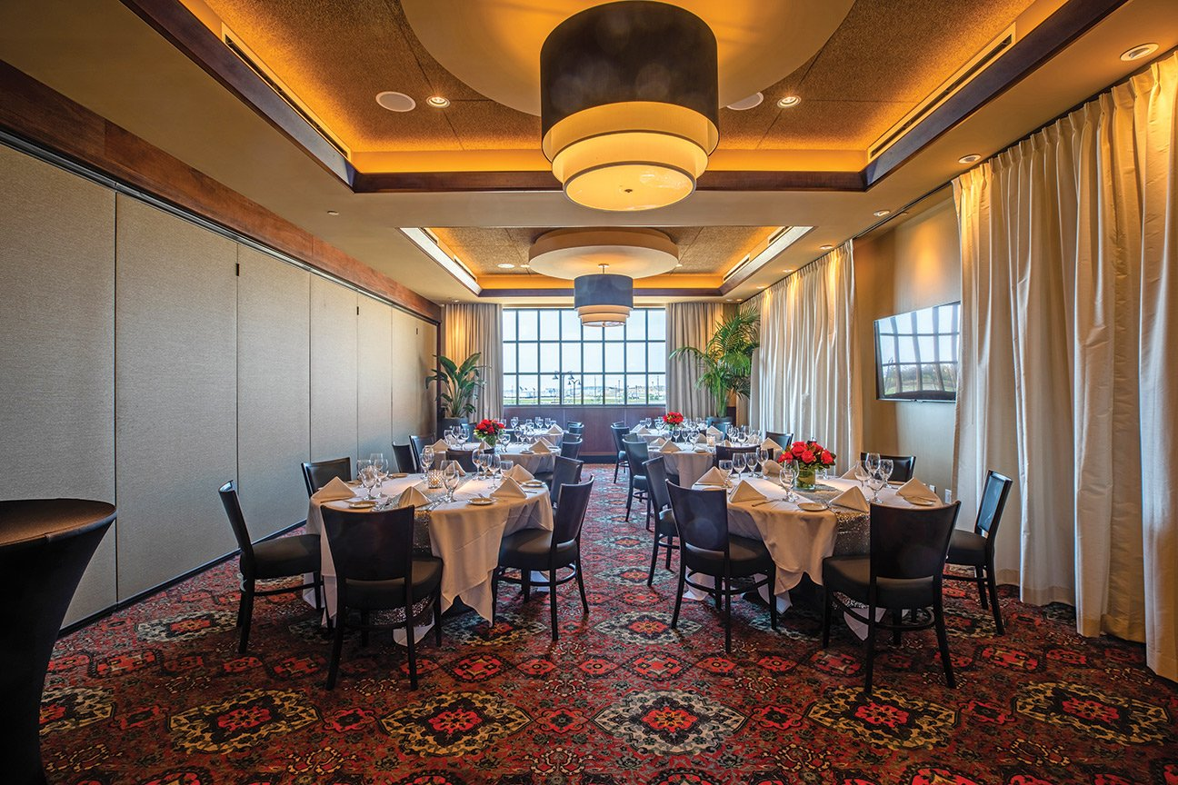 Truluck's Rosemont private dining room - The Naples Room