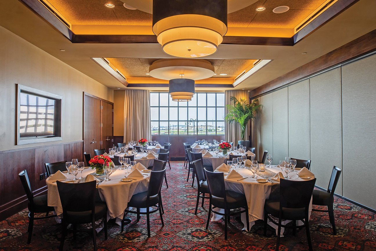 Truluck's Rosemont private dining room - The Pearl Room