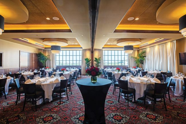 picture of Stone crab room in our Rosemont location