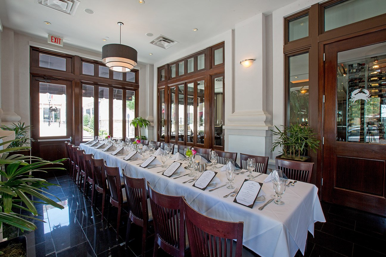 Truluck's Southlake private dining room - The Atrium