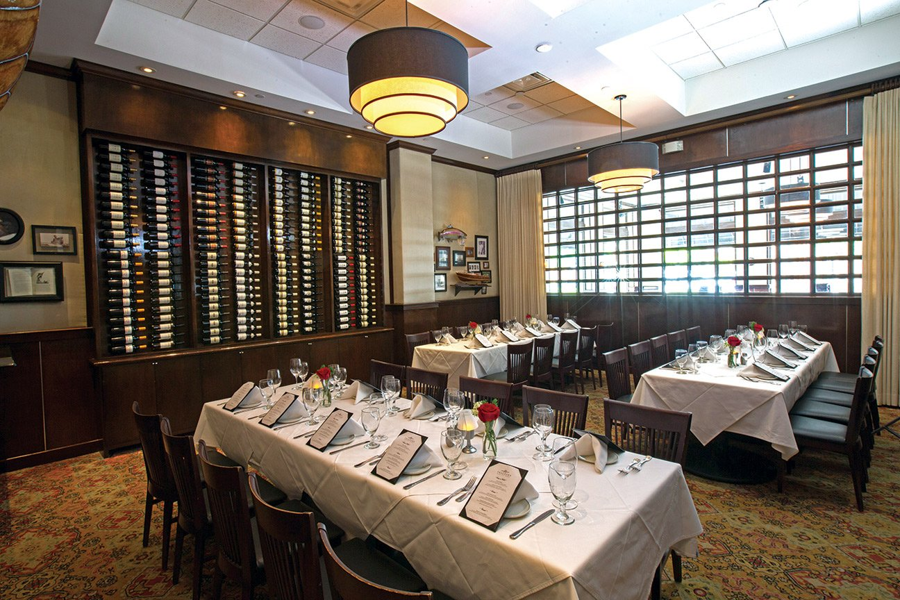 Private dining room in our Southlake location