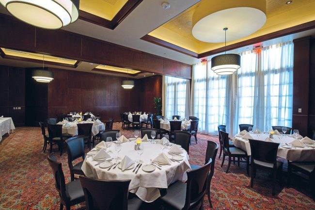 picture of Stone crab room in our Woodlands location