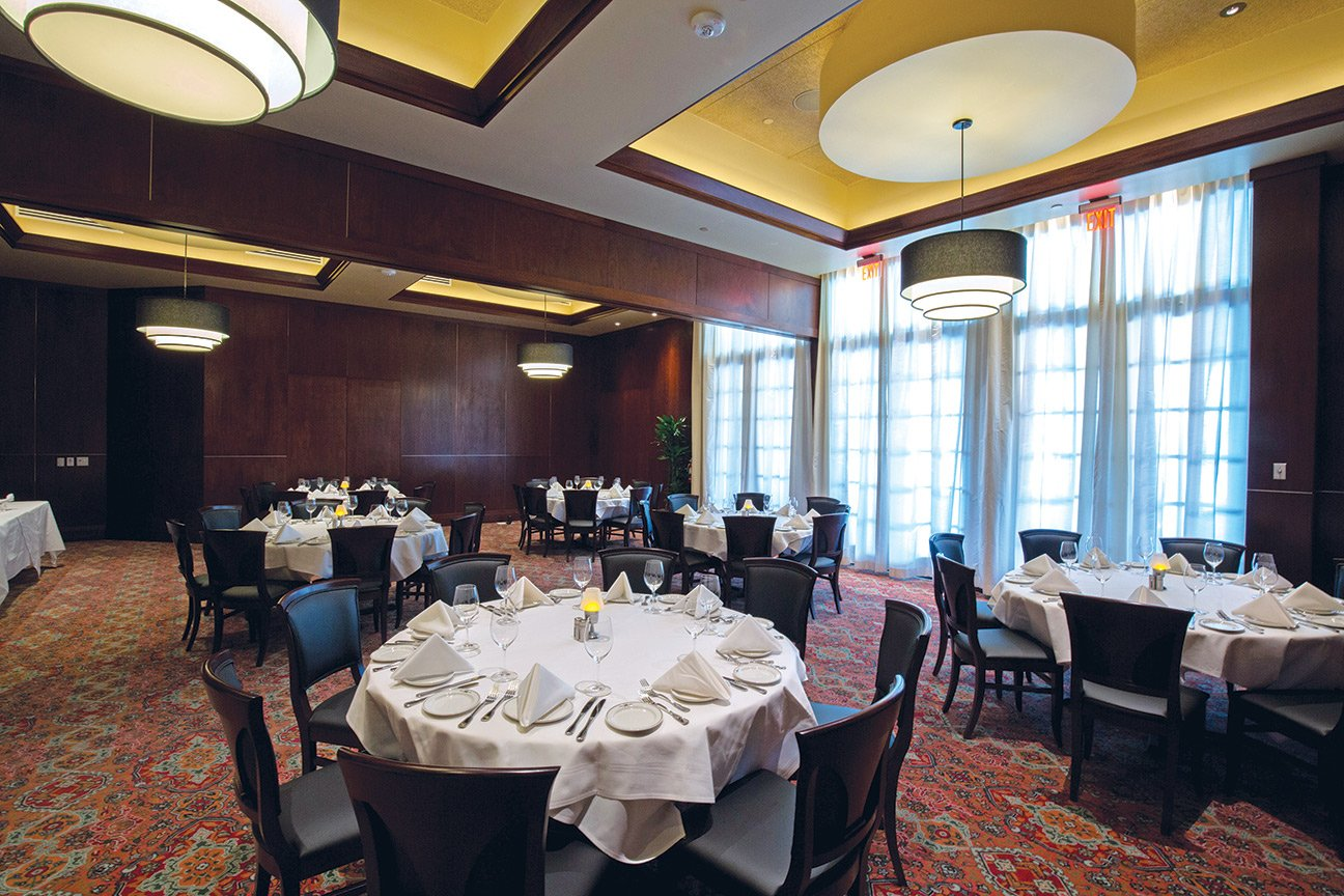 Stone crab room in our Woodlands location