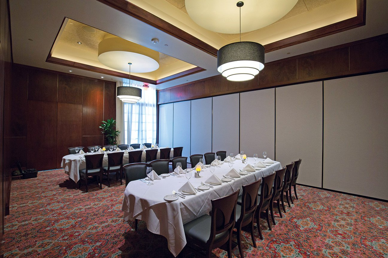 Truluck's Woodlands private dining room - The Capri Room
