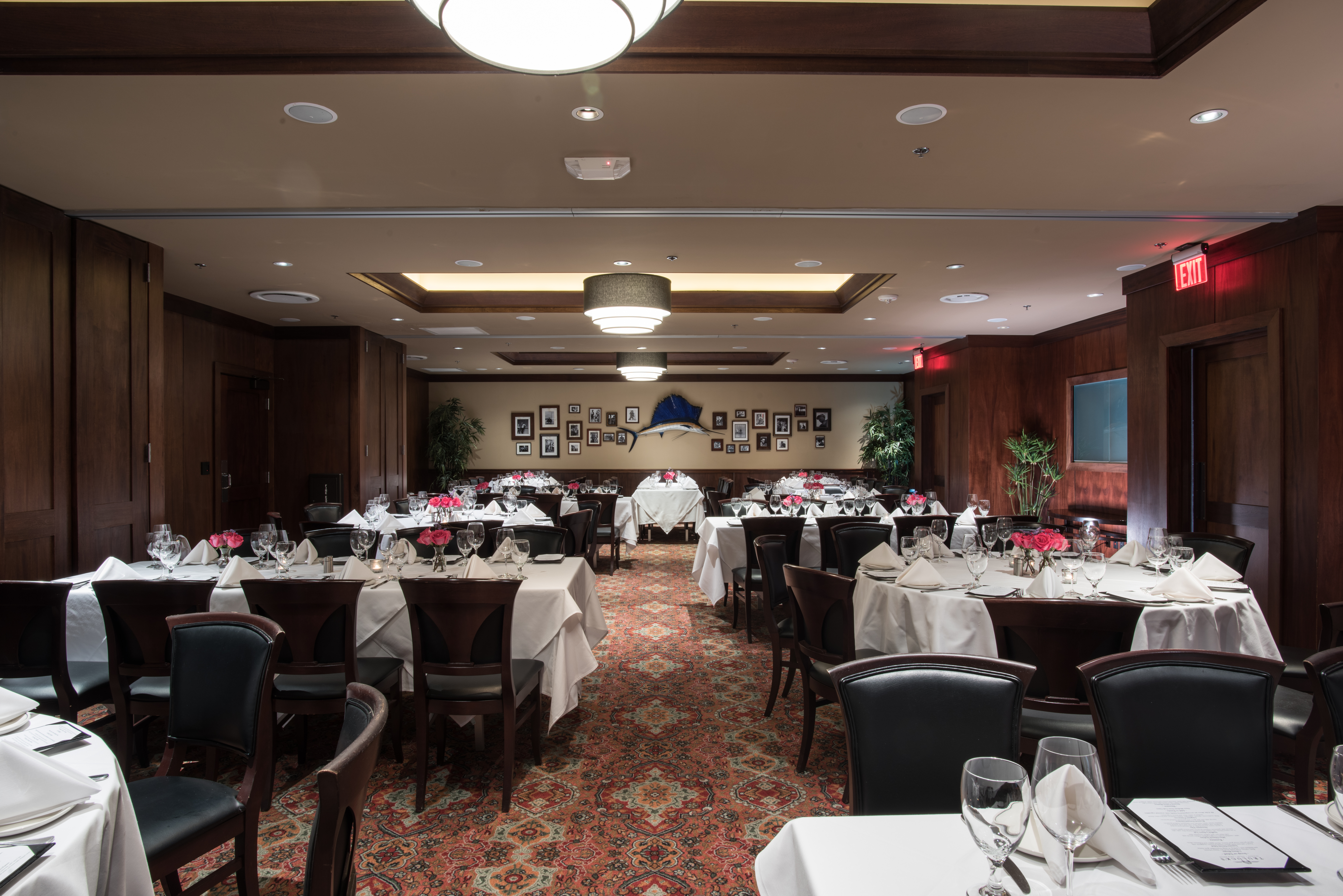 Truluck's Dallas private dining room Naples 2 & 3