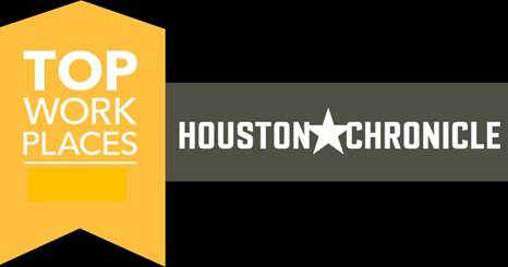 The Houston Chronicle Top Work Places Award logo