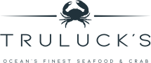 Truluck's Ocean's Finest Seafood & Crab Logo (Dark)