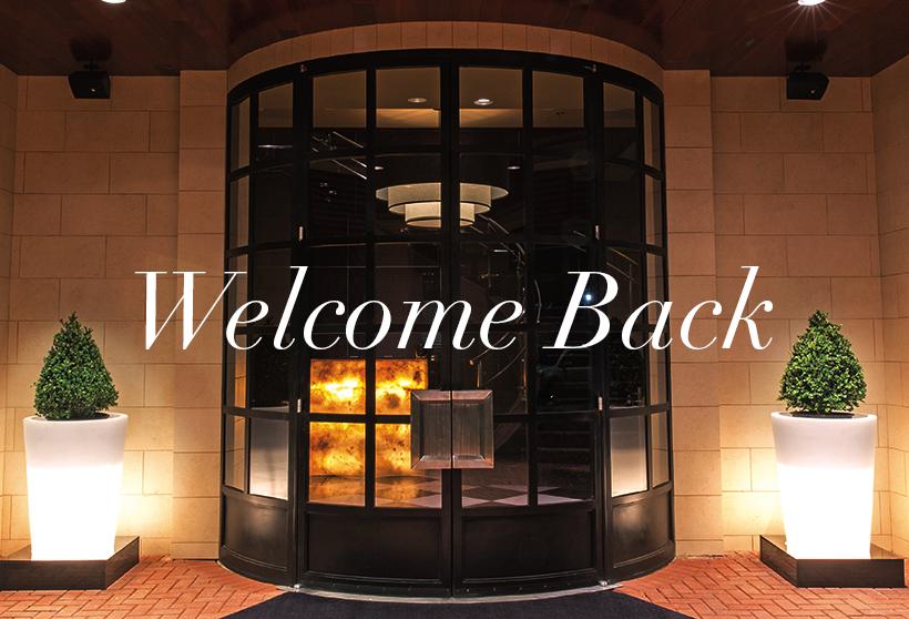 Welcome Back photo of front door