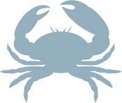 silver crab logo