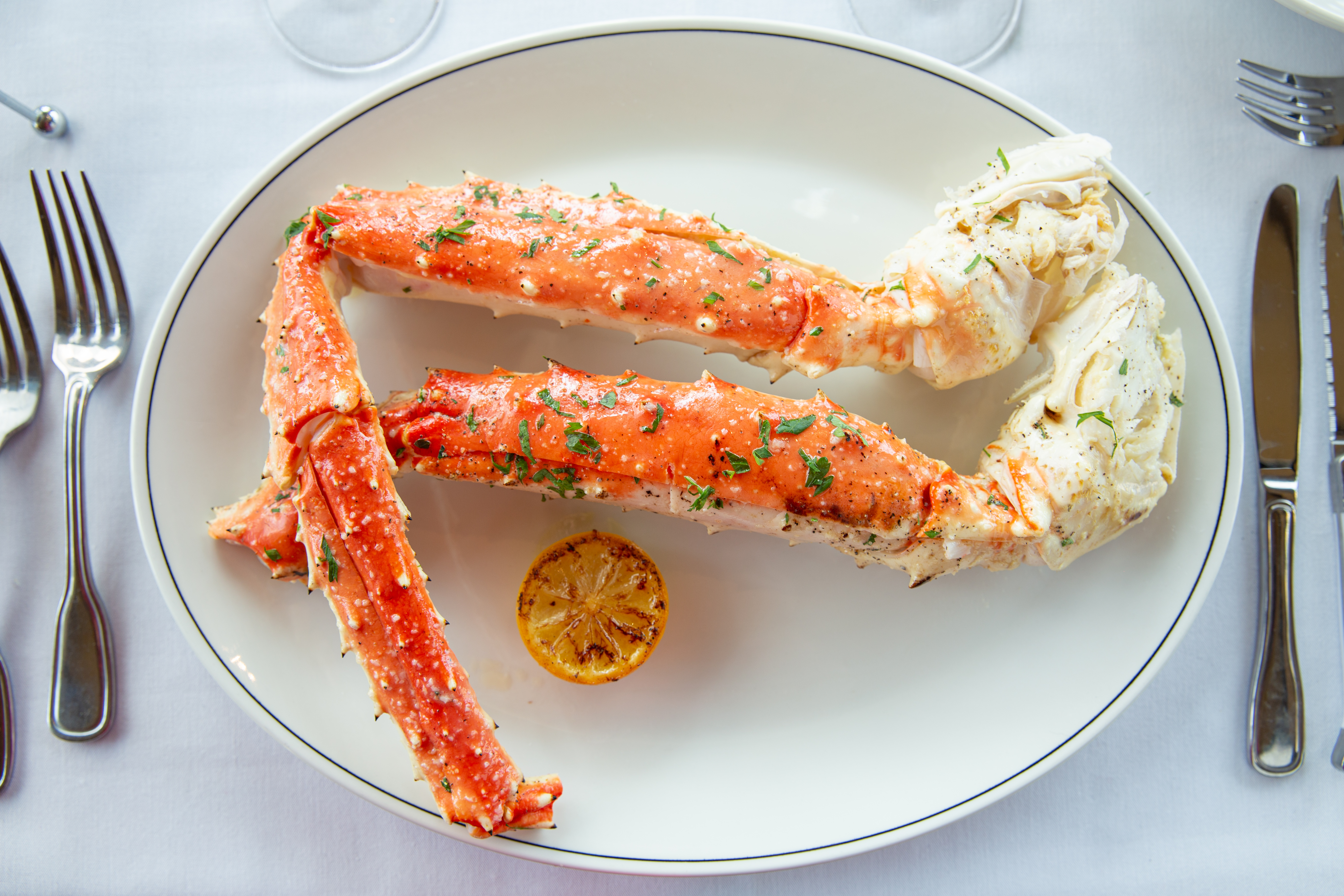 picture of Alaskan prime king crab legs