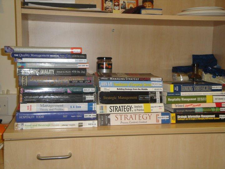 Yohan's hospitality books of study