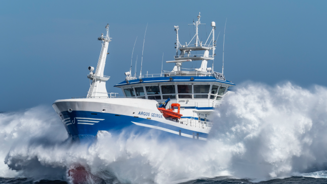 picture of fishing boat named Argos Georgia